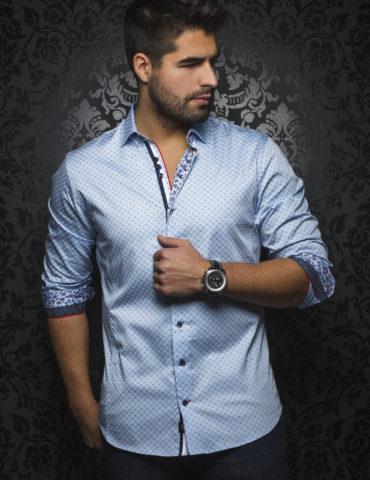 AuNoir Shirts Long Sleeves CYPRUS_light blue