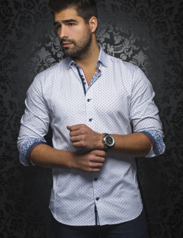 AuNoir Shirts Long Sleeves CYPRUS_white